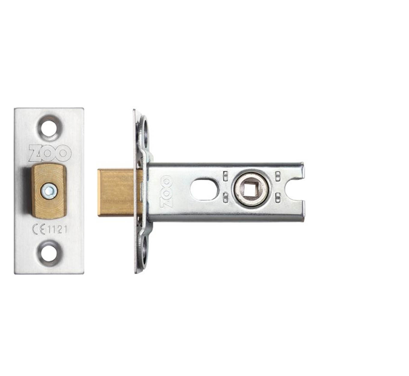 Zoo Hardware Mortice Bathroom Lock 76mm//64mm Various Finishes