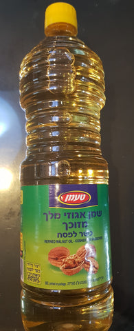 Walnut Oil for Passover