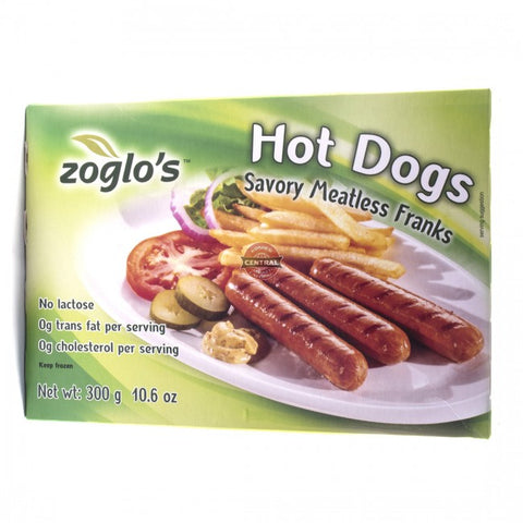 Hot Dogs Savory Meatless Franks