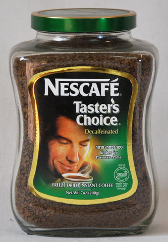Taster's Choice Instant Coffee Decaffeinated