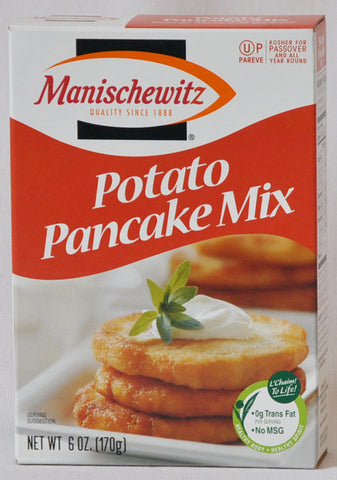Potato Pancake Mix For Passover