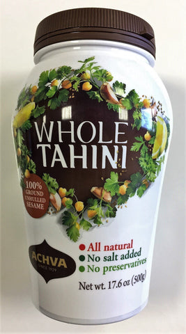 Tahini Whole Sesame