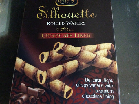 Mini Silhouette Rolled Wafer