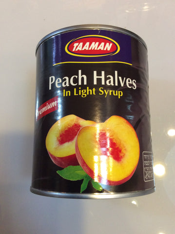 Canned Premium peach slices 820g