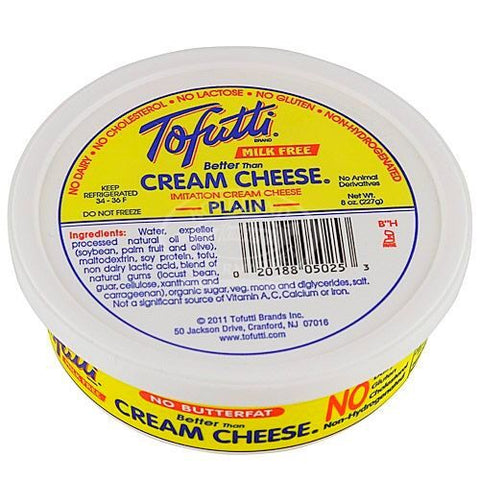 Milk Free Cream Cheese