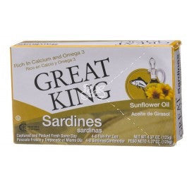 Great King Sardines