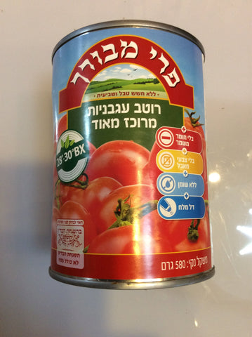 Canned Tomato Paste 22BX 580g