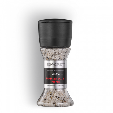 Dead Sea Cooking Salt & Pepper