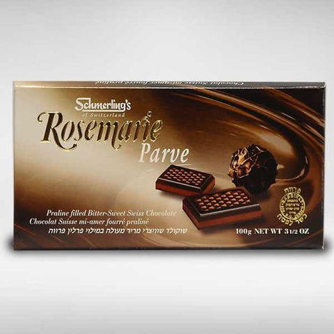 Rosemarie Parve Praline filled Bitter-Sweet Swiss Chocolate