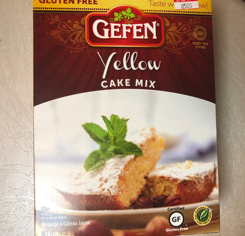 Passover Yellow Cake Mix