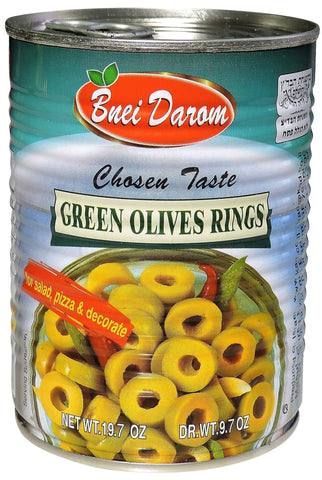 Canned Sliced Green Olives