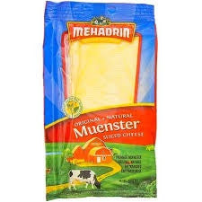 Muenster Sliced Cheese Original Natural