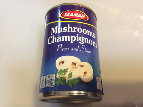 Canned Mushrooms - Cut