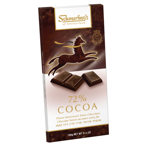 Swiss Dark Chocolate 72%