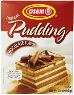 Instant pudding chocolate