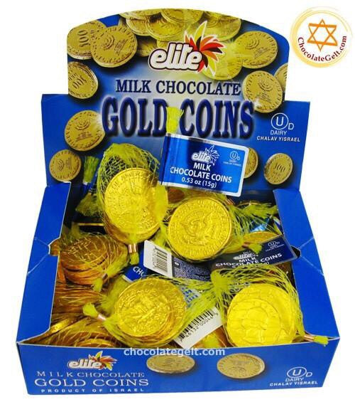Chanukah Milk Chocolate Coins