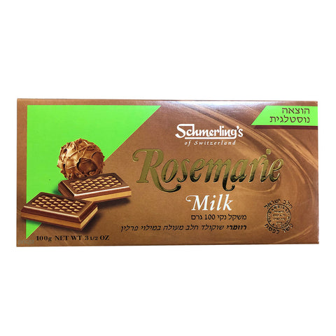 Swiss Rosemarie Milk Chocolate