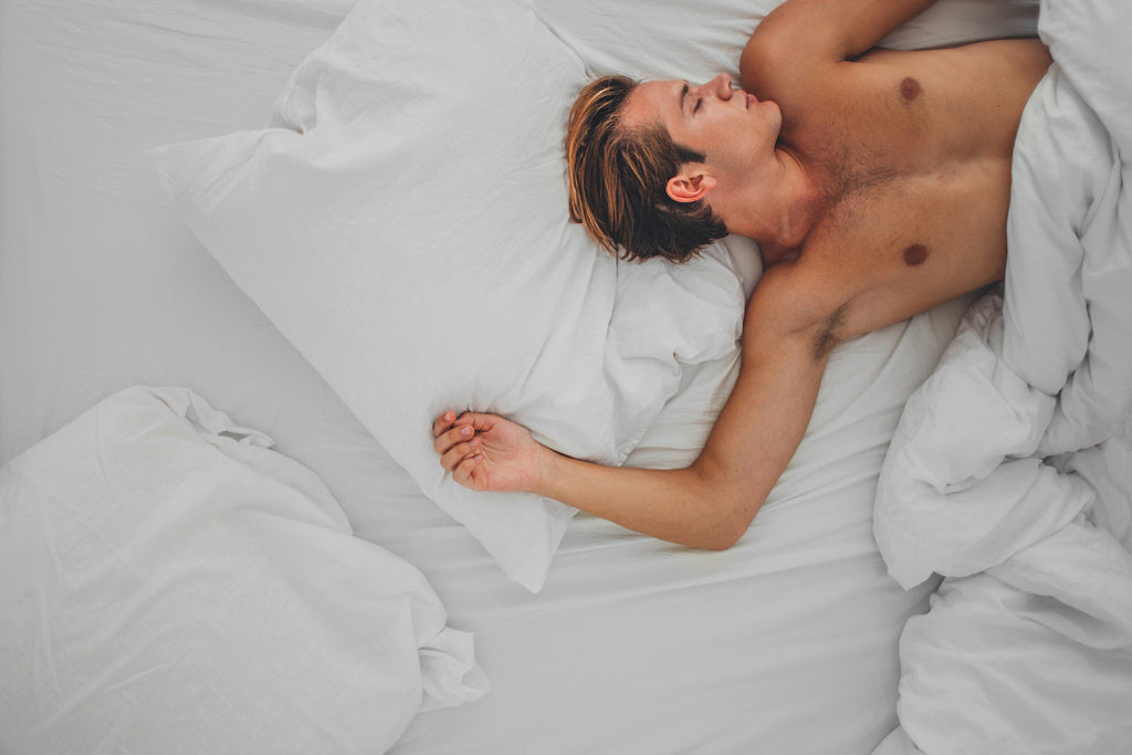 Sleeping NAKED is good for you... says science!