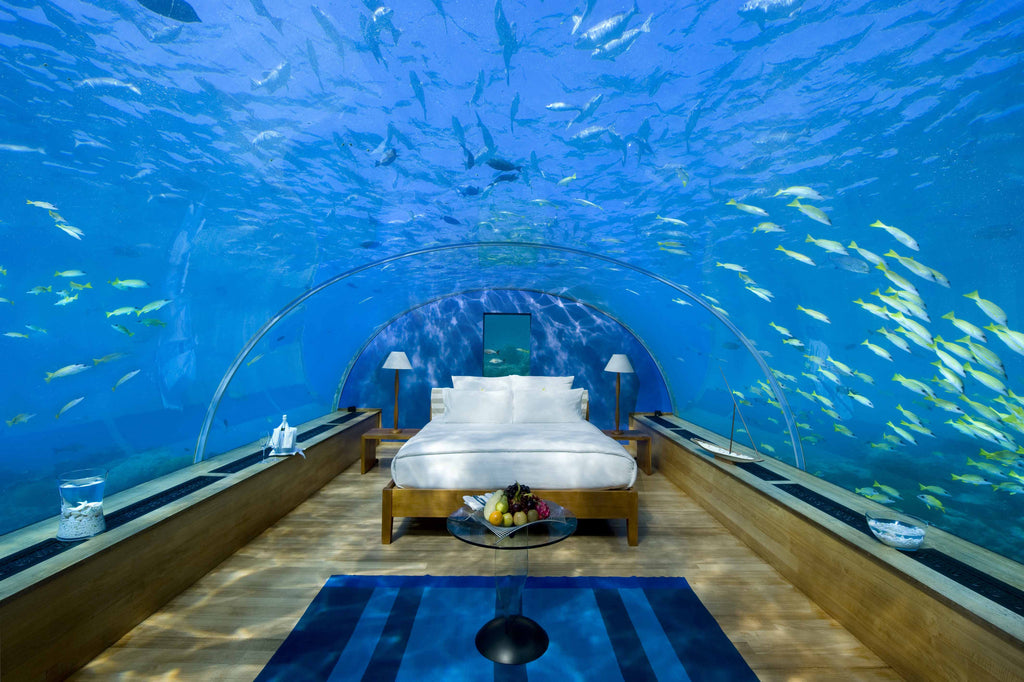 The 16 most amazing hotel bedrooms EVER.