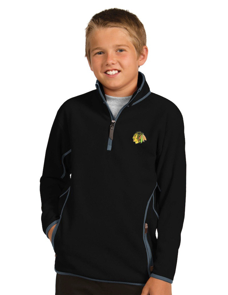 Antigua Blackhawks Youth Ice Pullover