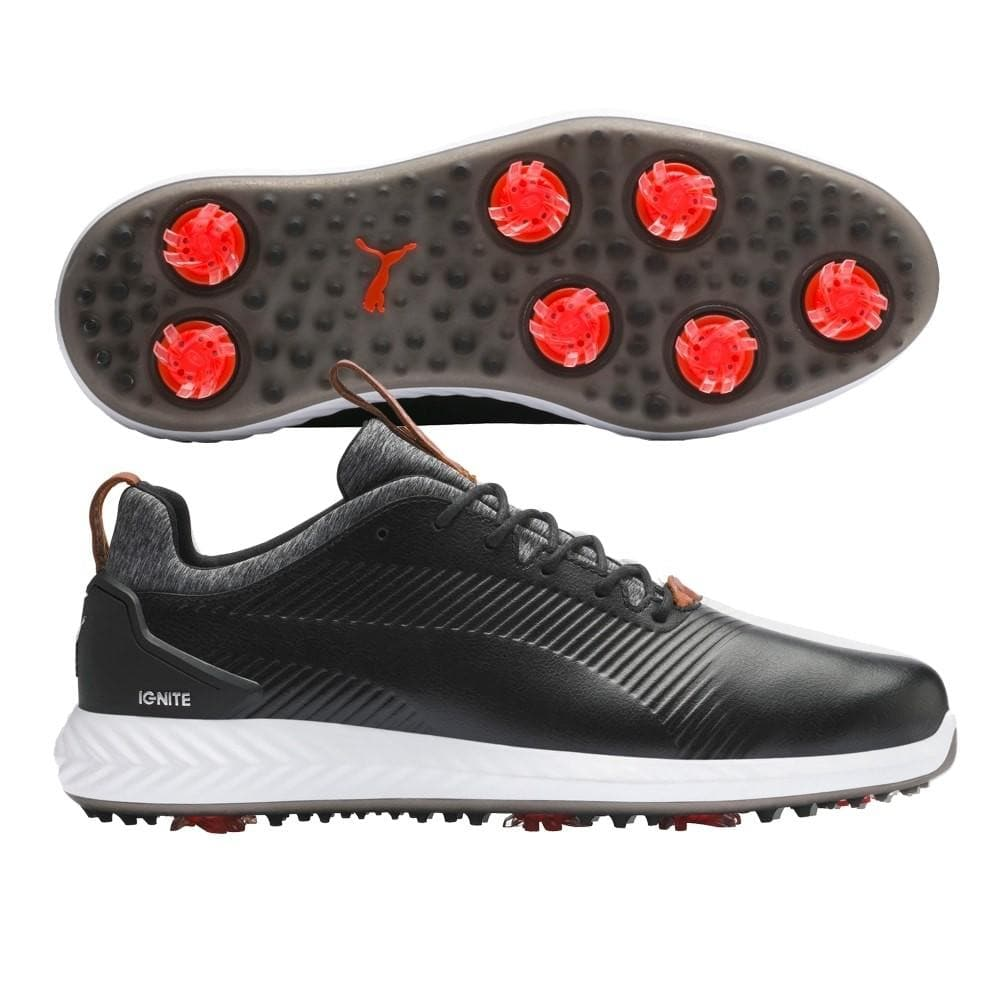 Puma Ignite Pwradapt Leather 2.0 Mens Golf Shoes 2020