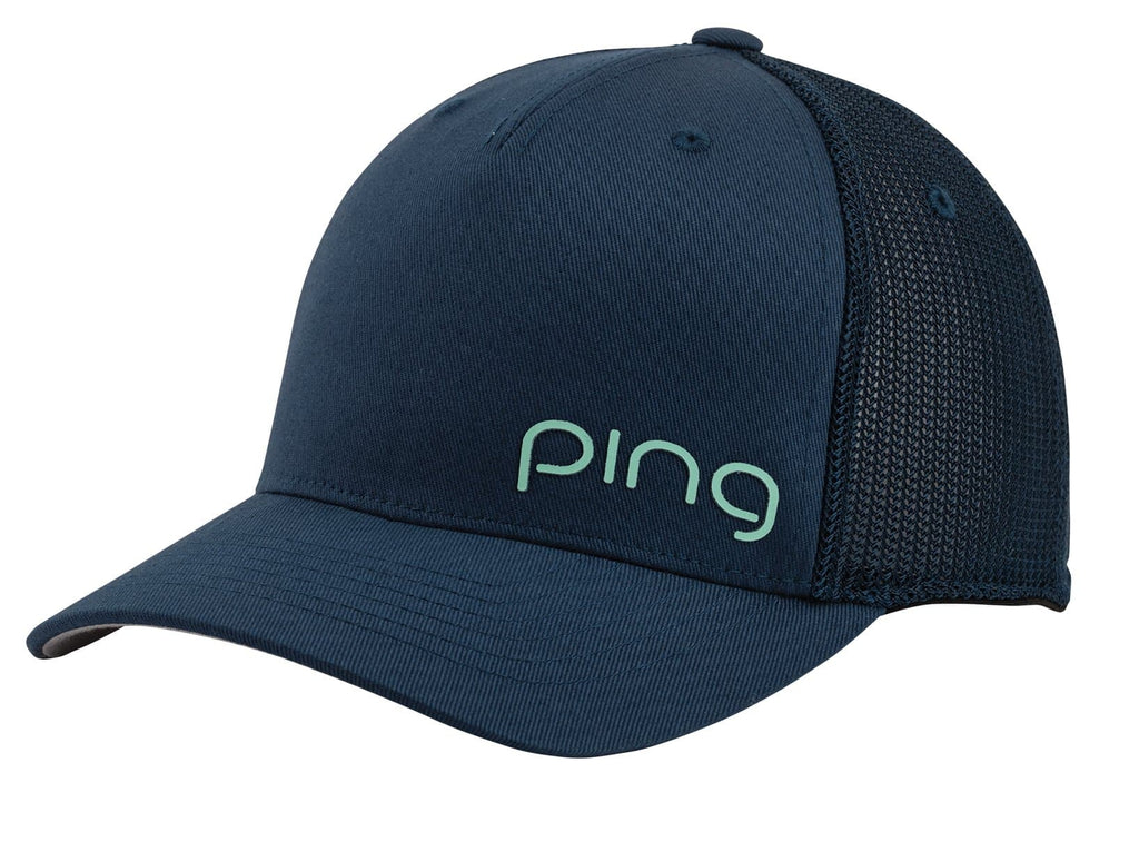 Ping Ladies Corner Mesh Cap Adjustable Snapback Golf Hat - 2021