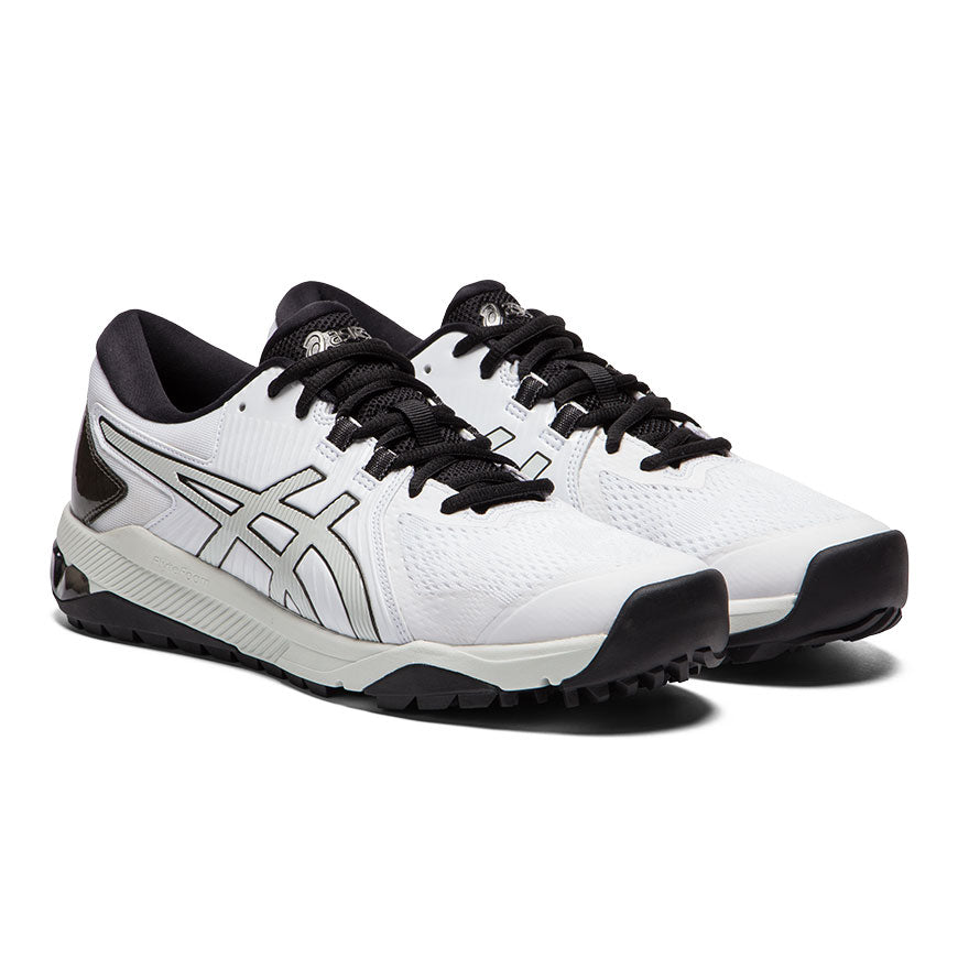 Asics Gel Course Glide Mens Golf Shoes White/Polar Shade