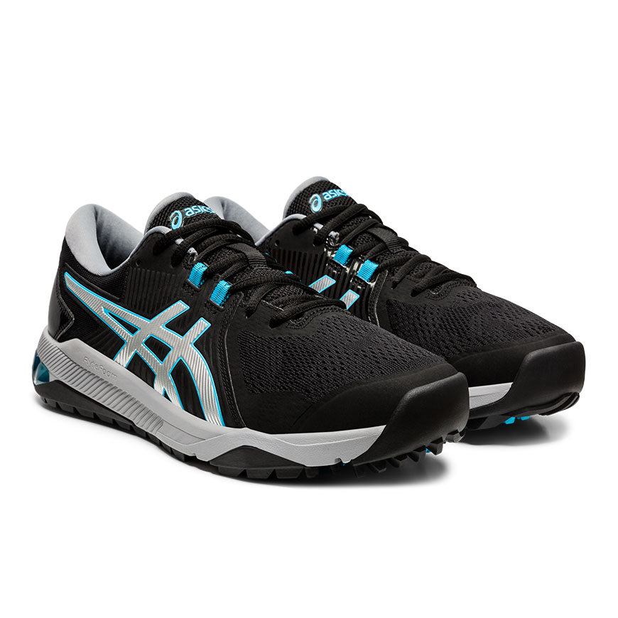 Asics Gel Course Glide Mens Golf Shoes Black/Silver