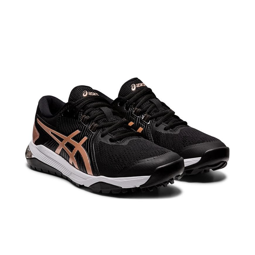 Asics Gel Course Glide Womens Golf Shoes Black/Rose Gold