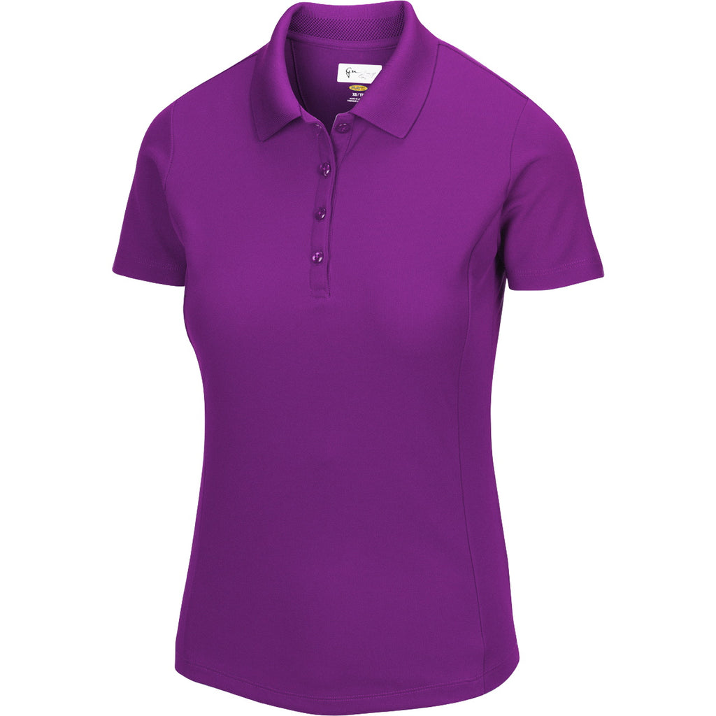 Greg Norman Women Dry Protek Micro Pique Polo 2020
