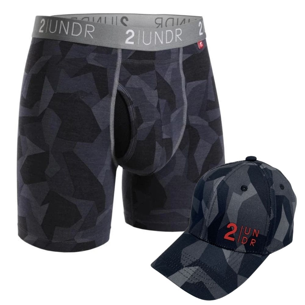 2UNDR Swing Shift Boxer Brief Prints (Free Hat with Purchase)