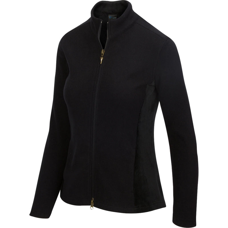Greg Norman Women Full Zip Fleece Velour Jacket 2020