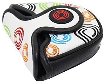 Odyssey Golf Tour Super Swirl Leather Mallet Putter Headcover
