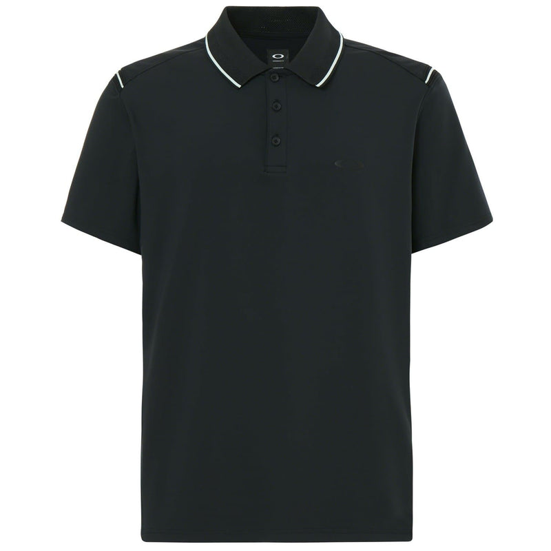 Oakley Ribbed Details Polo Golf Shirt