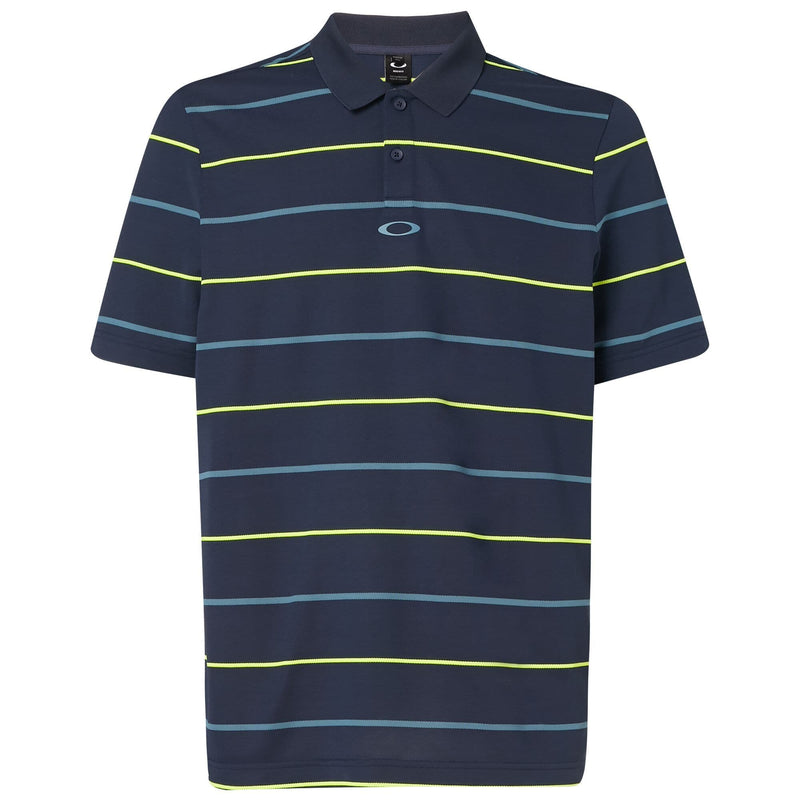 Oakley Mens Piquet Striped Polo 2019