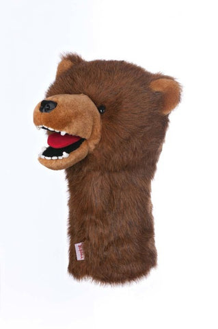Grizzly Bear Golf Headcover - New Daphne's Head Covers, Headcovers, Daphnes - www.golfdirectnow.com