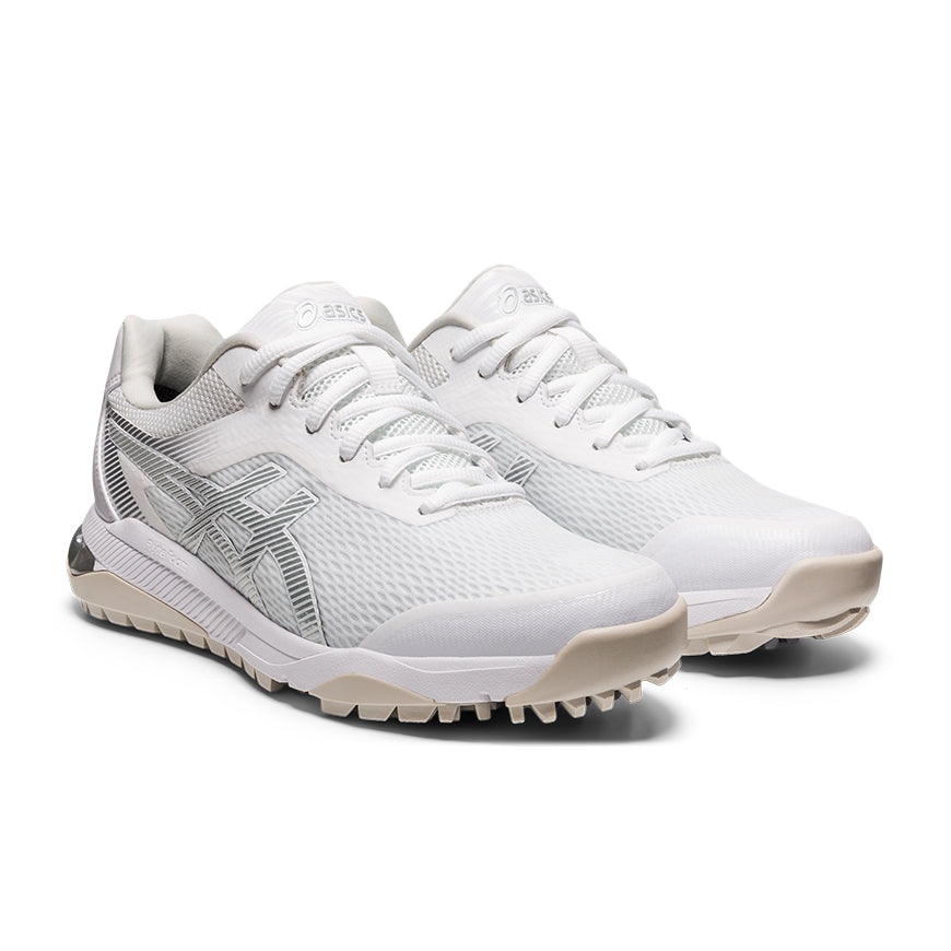 Asics Gel Course Ace Womens Golf Shoes White/Pure Silver