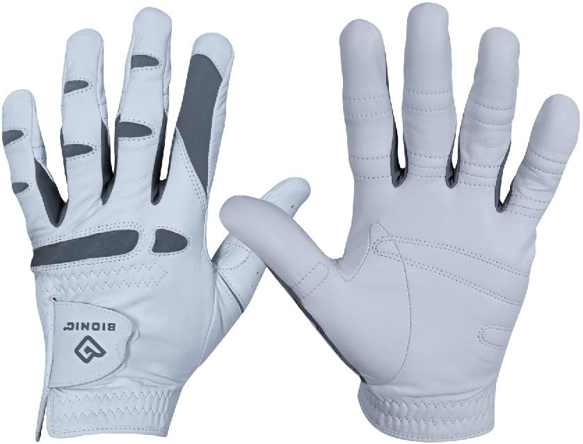 Bionic Men's PerformanceGrip Pro Left Hand White Golf Glove