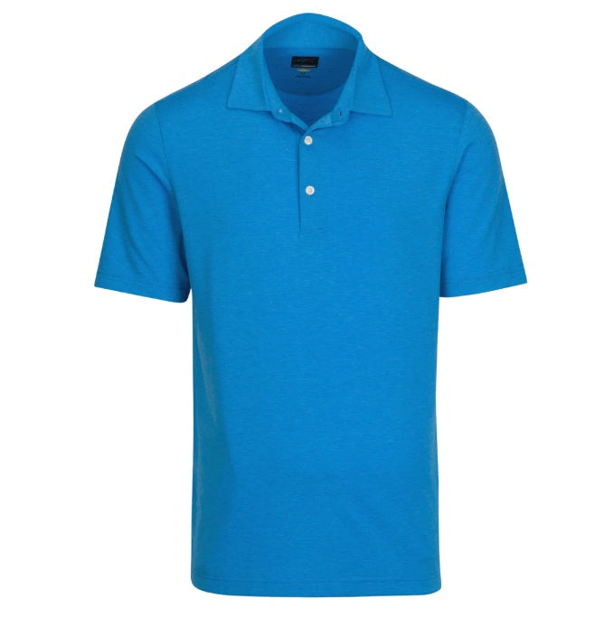 Greg Norman Heathered Stretch Mens Polo - 2019