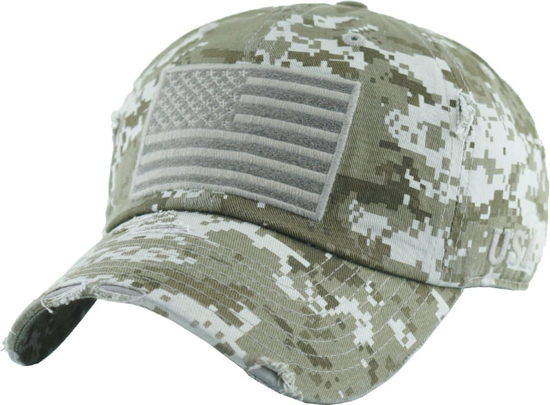 Vintage Usa Tactical Operator Distressed Baseball Cap