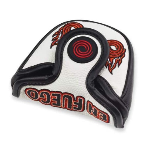 Odyssey Golf En Fuego Leather Mallet Putter Headcover