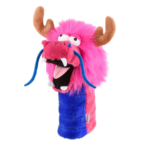 Daphnes Pink Dragon Driver Golf Headcover