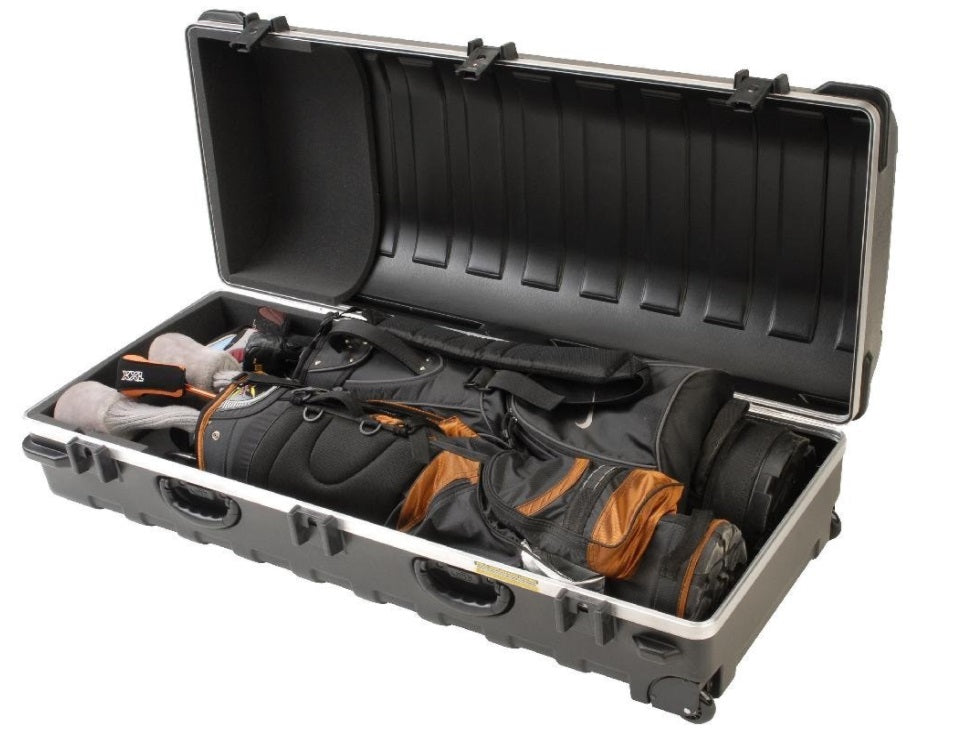 Skb Double Ata Golf Travel Hard Shell Case