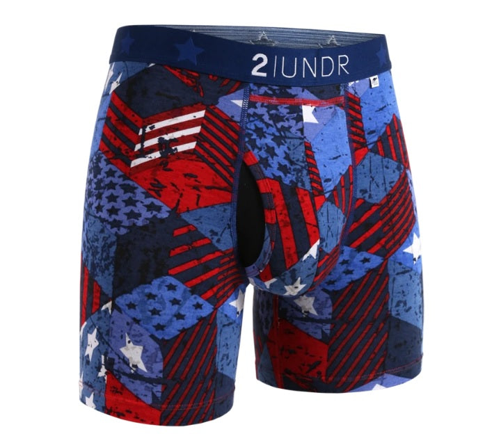 2UNDR Swing Shift Boxer Brief - Prints