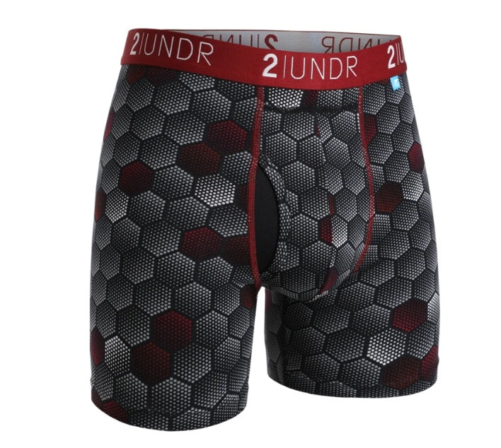 2UNDR Swing Shift Boxer Brief Shorts - Closeout Colors
