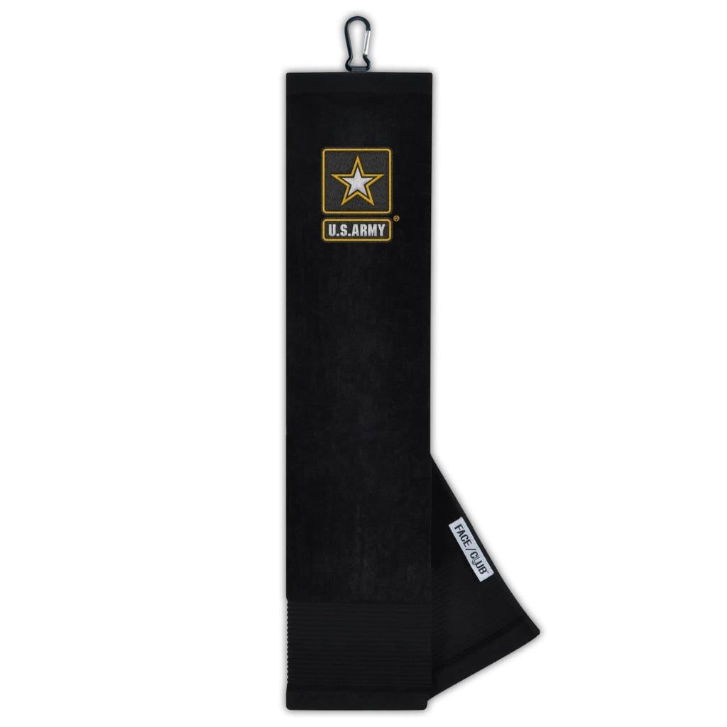 Team Effort Embroidered Military US Army Golf Towel
