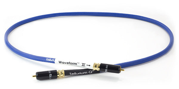 Image of TELLURIUM Q DIGITAL RCA CABLE: BLUE WAVEFORM