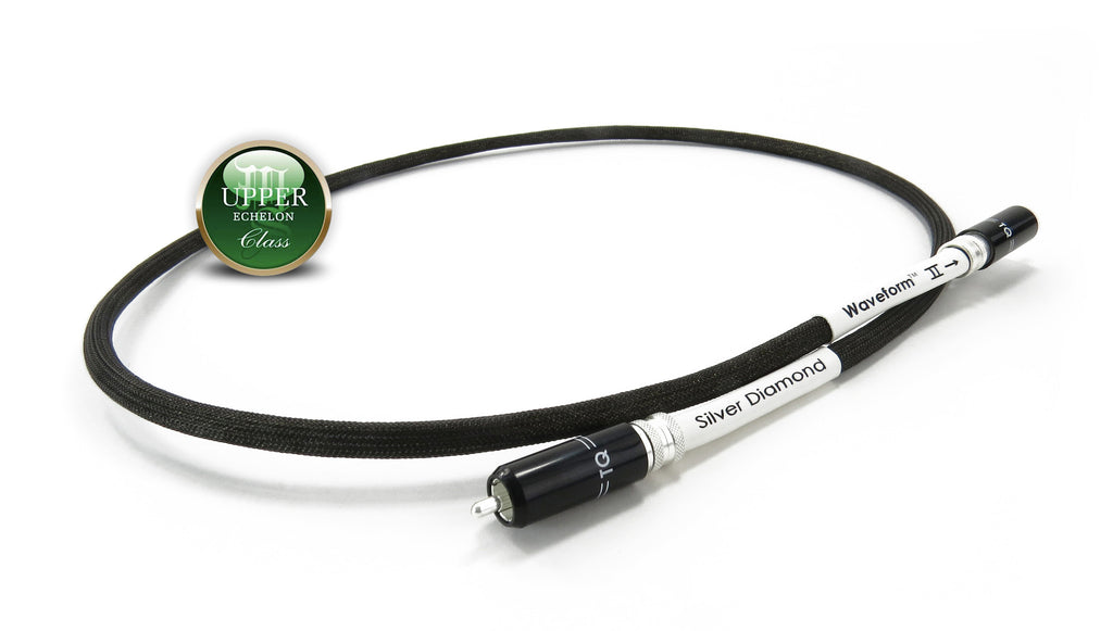TELLURIUM Q DIGITAL RCA CABLE: SILVER DIAMOND WAVEFORM - Martins Hi-Fi