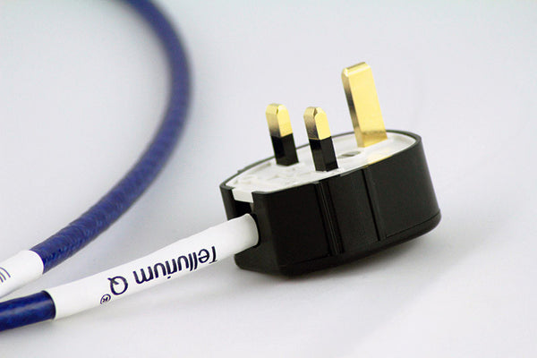 Image of TELLURIUM Q MAINS CABLE: ULTRA BLUE POWER