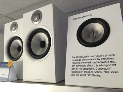 Bowers & Wilkins 606 Speakers - £549.00